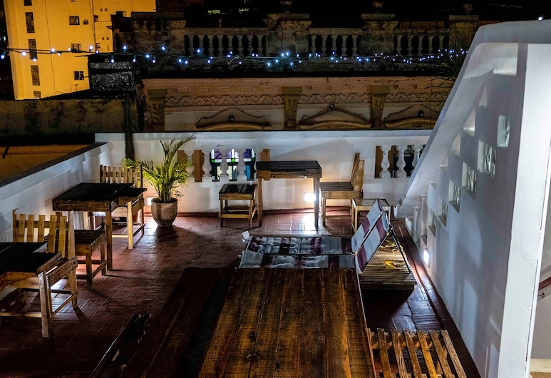 Art Studio Habana Vieja 55, La Havane, Restauration en terrasse