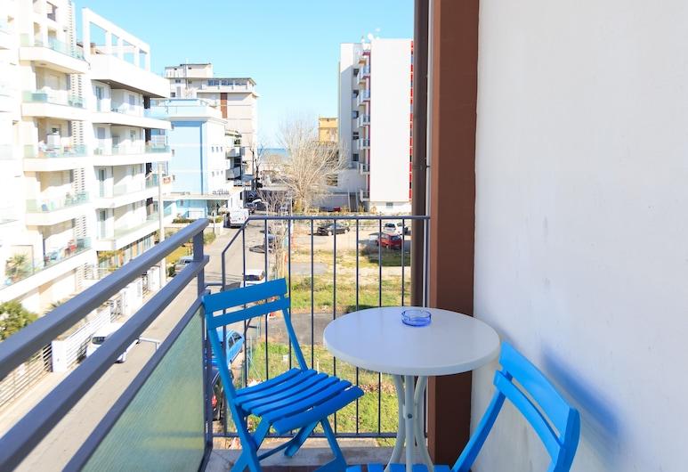 Mini Hotel, Rimini, Standard Double Room, Balcony