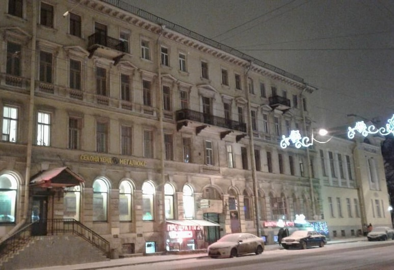 Kommunalka, San Pietroburgo, Facciata hotel
