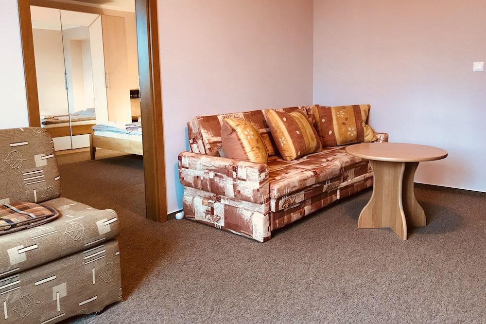 Appartamento Comfort, 2 camere da letto, balcone, vista città - Area soggiorno