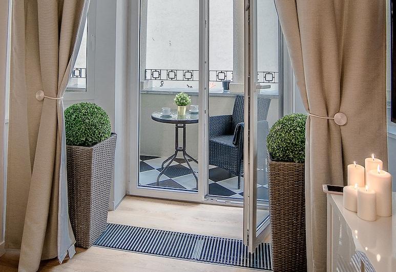 Apartamenty Flat White, Poznan, Stüdyo (Flat White II), Oturma Alanı
