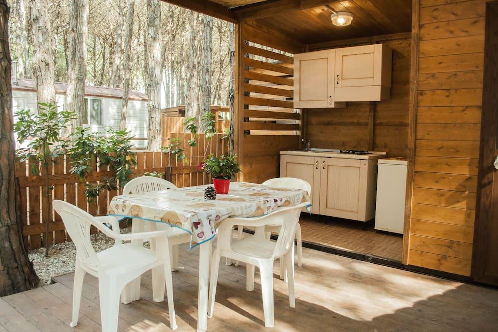 Rodinný bungalov, 1 spálňa - Obývacie priestory