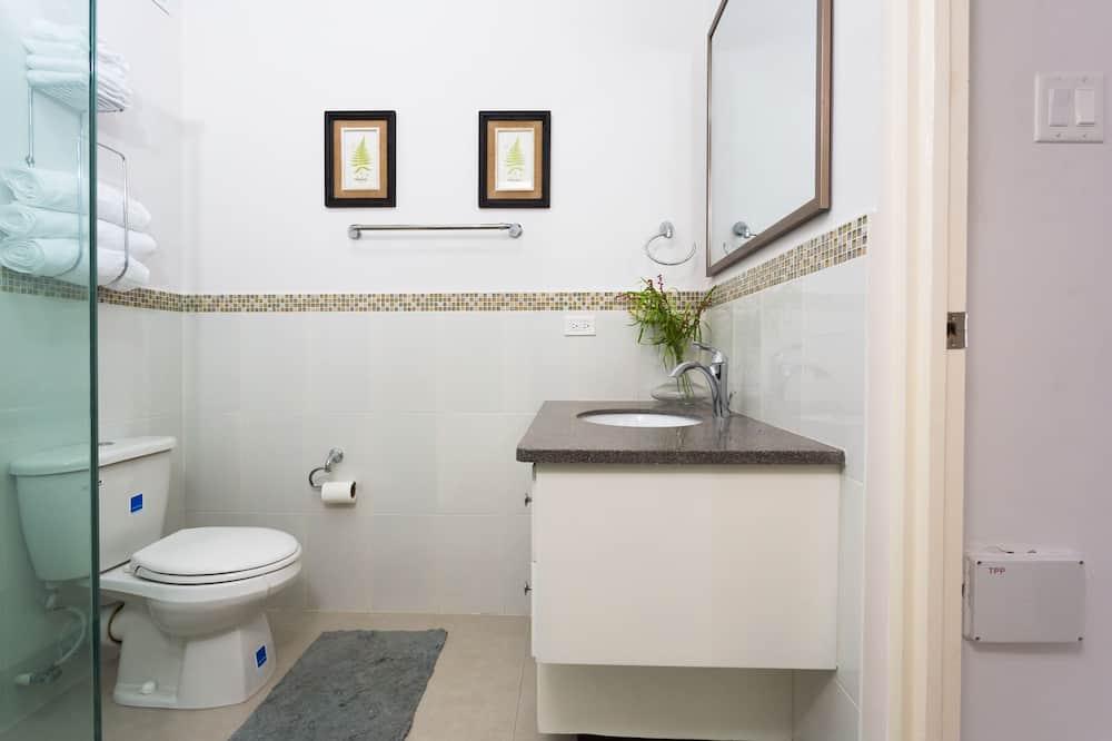Luksus-lejlighed - 1 soveværelse - bjergudsigt - Badeværelse