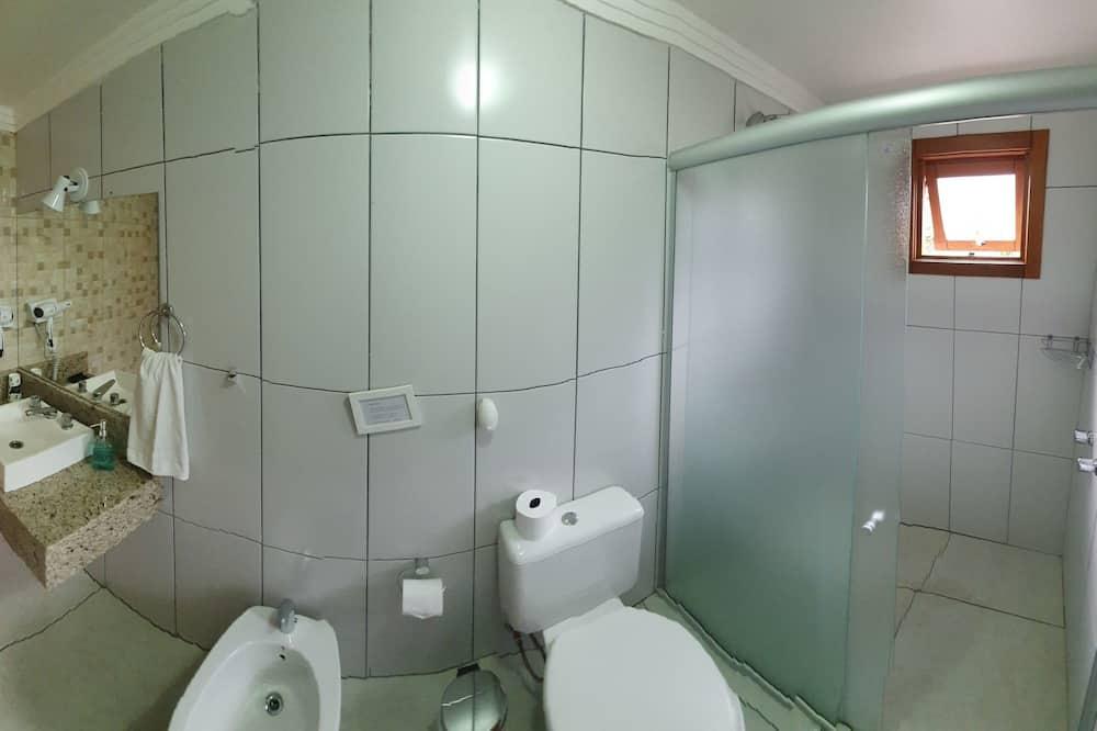 Căn hộ, 1 giường đôi - Phòng tắm