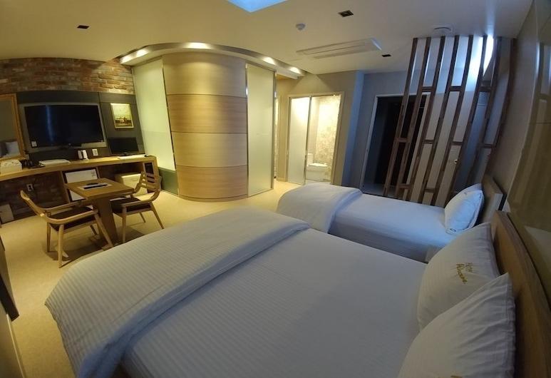Khan Hotel, Daegu, Royal Süit, Oda