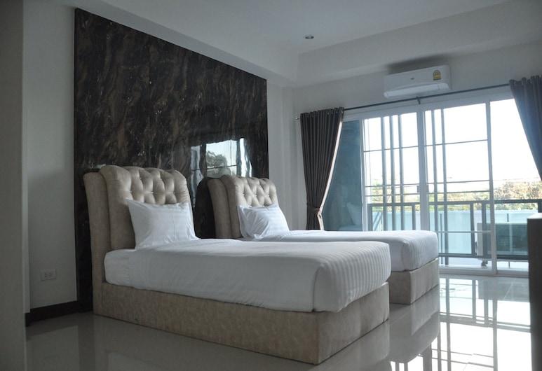 Herb Home @ Chiang Rai, Чианграй, Двухместный номер «Делюкс» с 2 односпальными кроватями (2nd floor), Номер
