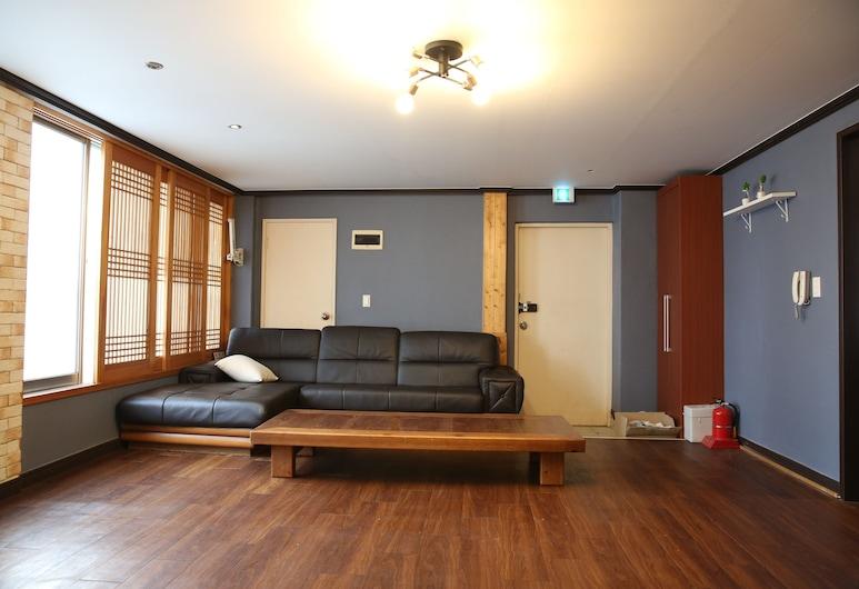 海雲台帕克旅館, 釜山, 客房 (Ondol Room 82 sqm), 客廳