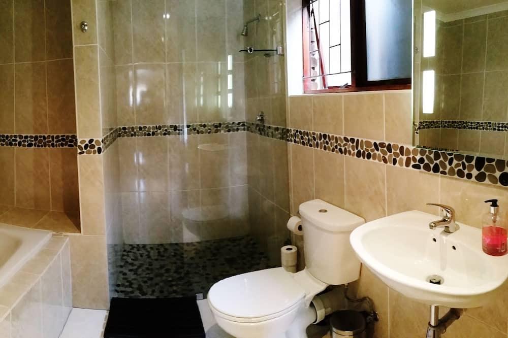 غرفة ديلوكس مزدوجة - بحمام داخل الغرفة - حمّام