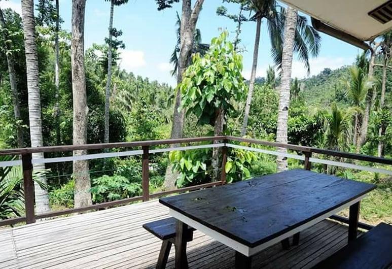 Margarett Island Peak Resort, Hinatuan, Room Good for 2 (Fan Room), Balcony