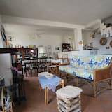 Familie appartement, 2 slaapkamers, Uitzicht op zee, Aan het strand - Woonruimte