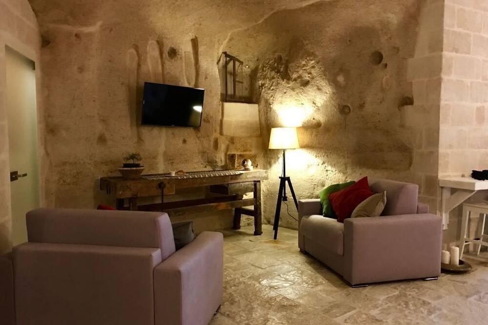 Suite Deluxe (Cave) - Sala de estar