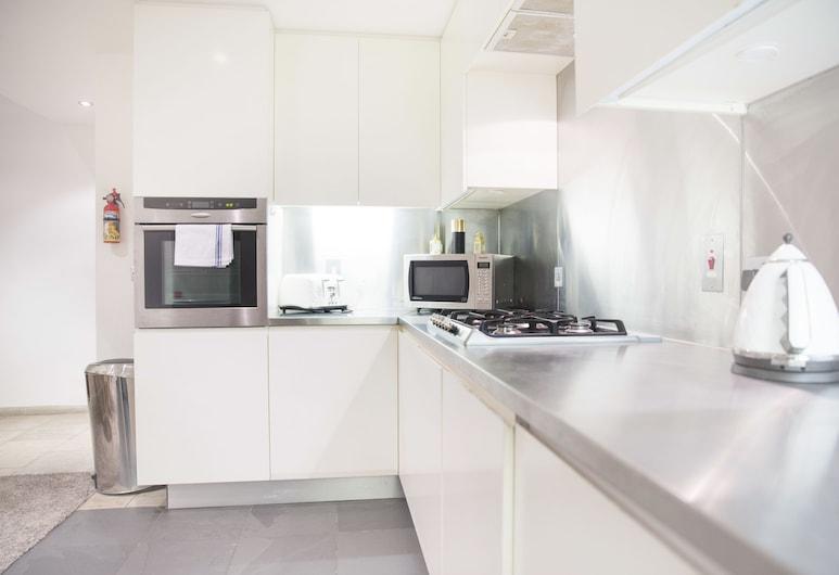 霍爾本光亮 - 現代 3 房之家酒店 - 附屋頂陽台/車庫, 倫敦, 公寓, 3 間臥室, 私人廚房
