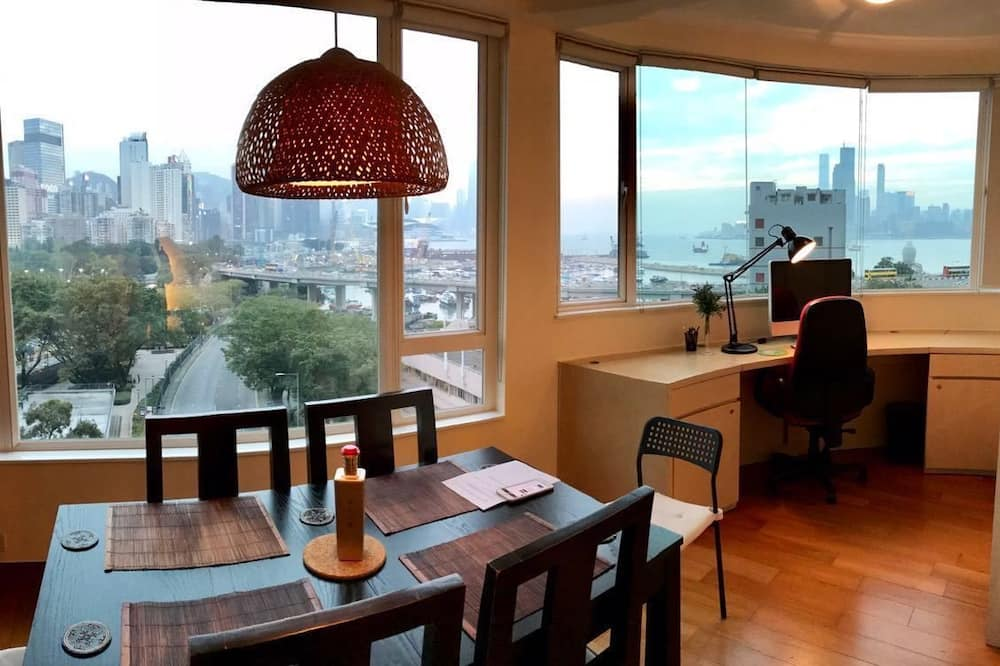 Panoramic Apartment, 2 Bedrooms, 2 Bathrooms, Harbour View - In-Room Dining