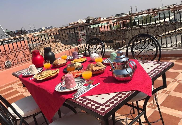Amour d'auberge, Marrakech, Dormitorio compartido, dormitorio mixto, Terraza o patio