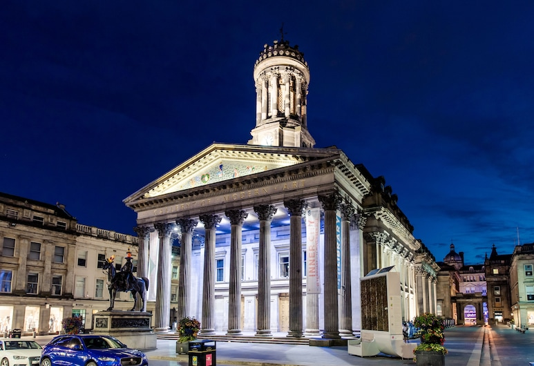 PREMIER SUITES PLUS Glasgow Bath Street, Glasgow, Premier-Suite, 2Schlafzimmer, Blick auf die Stadt