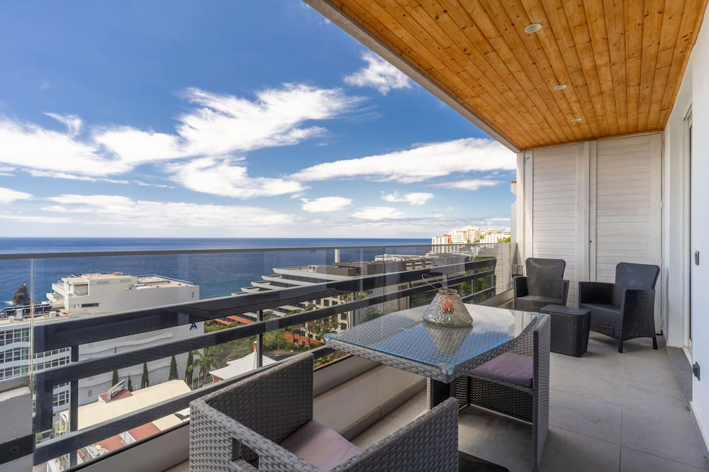 Panoramic Apartment, 1 Bedroom, Lanai, Sea View - Balcony