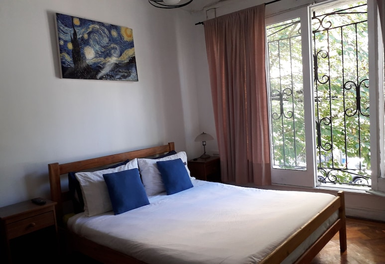 Atacama Backpackers, Santiago, Standard Double Room, 1 Double Bed, Private Bathroom, Tower, Guest Room