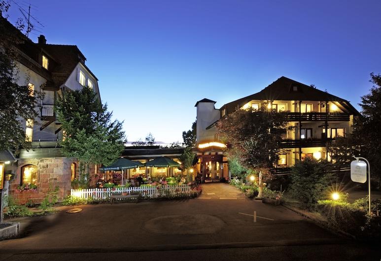 Hotel Hohenried Im Rosengarten, פראודנסטדט, חזית המלון - ערב/לילה