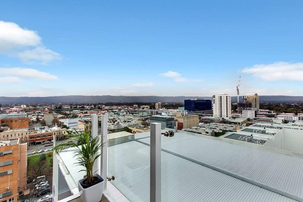 Executive külaliskorter, 2 magamistoaga, vaade linnale - Rõdu