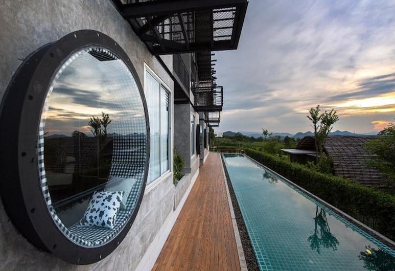 Vino Neste Private Pool Villas, Pak Chong, One Bedroom Duplex , Teres/Laman Dalam