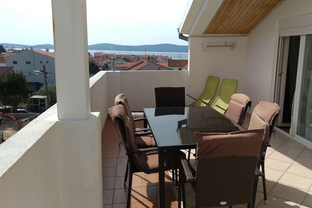 Apartamento, 2 Quartos, Vista Mar - Terraço/Pátio Interior