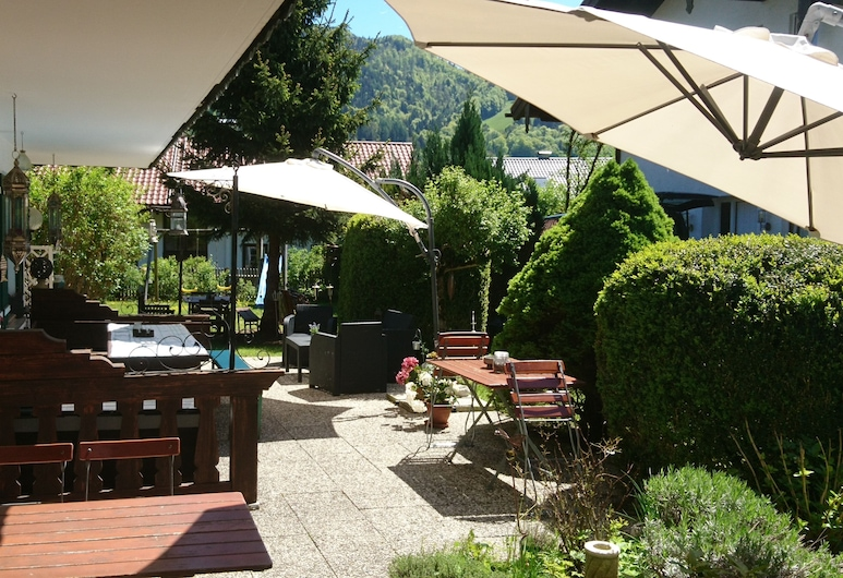 Pension Bergblick, Ruhpolding, Terrasse/Patio