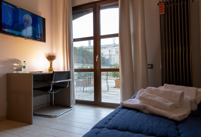 Al Vecchio Mulino Suite, Matera, Double or Twin Room, Courtyard View, Guest Room