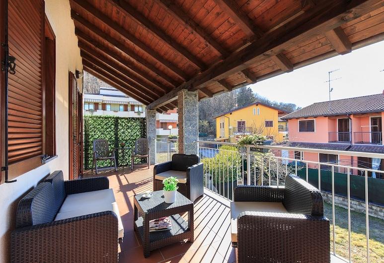 Ortalakeflat - Casallegra, Orta San Giulio, Appartement, 3 chambres, Terrasse/Patio