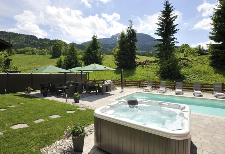 Ferienparadies Alpenglühn, Berchtesgaden, Luxury Apartment, Non Smoking (Obersalzberg), View from room