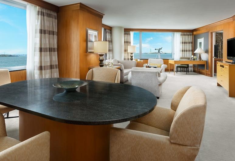 The Wagner Hotel, Nova York, Suíte premier, 1 quarto, Vista para o porto, Sala