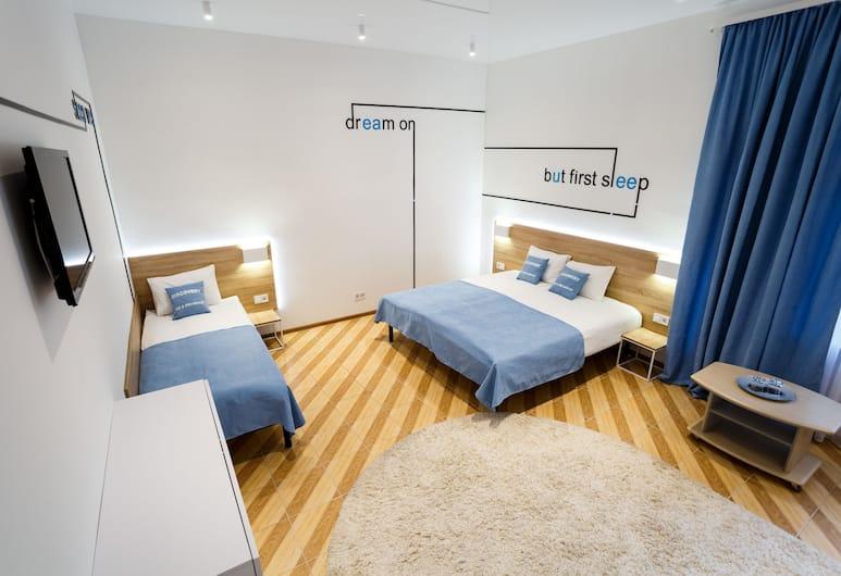 Discovery B&B - Hostel, Lviv, Üç Kişilik Oda, 1 Yatak Odası, Oda