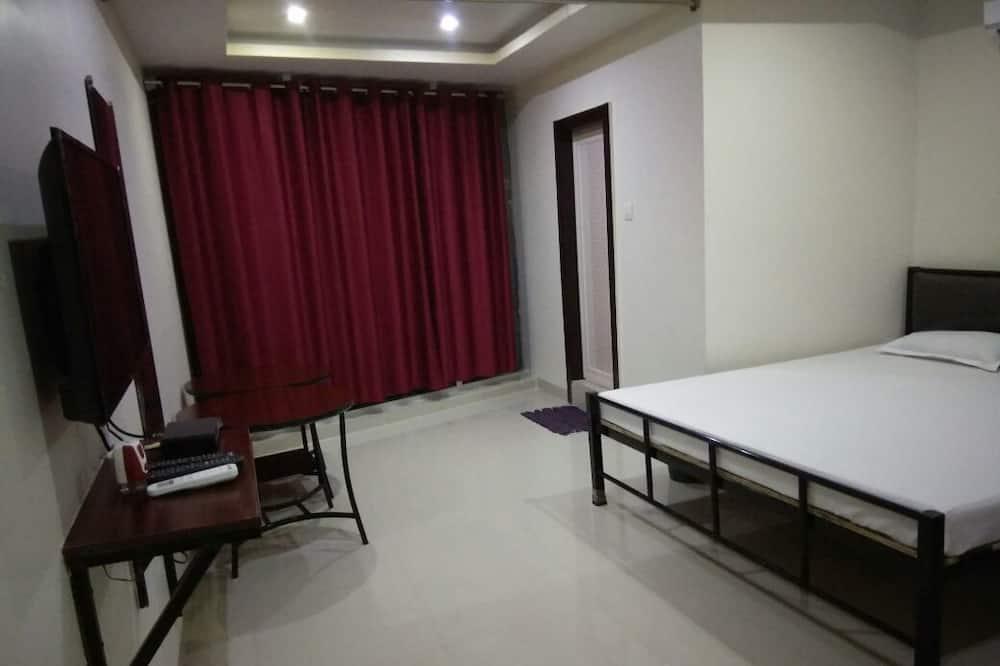 ห้องแฟมิลี่, เตียงคิงไซส์ 1 เตียง, วิวภูเขา - ห้องน้ำ