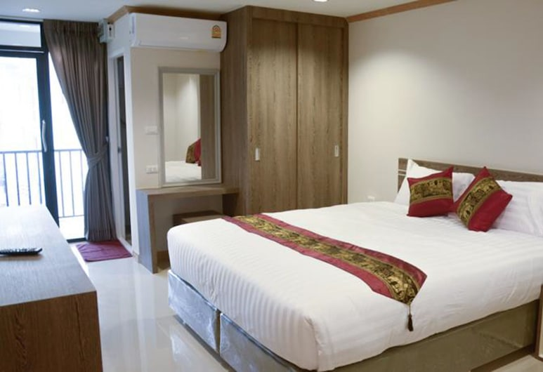 Sunlight Hotel, Pattaya, King room with Sea view, Camera