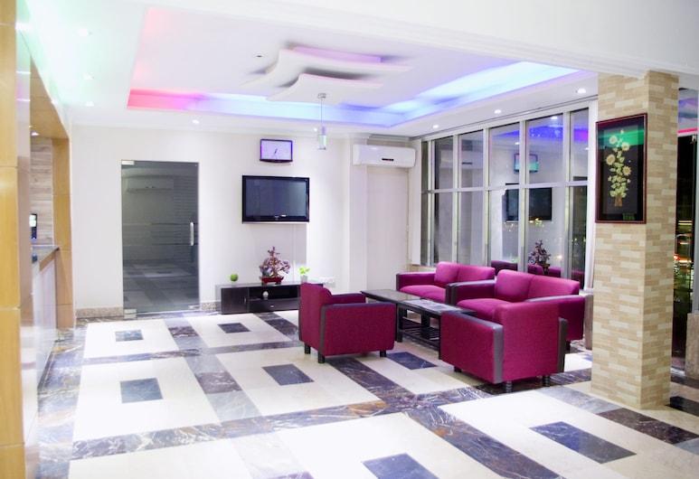 Restinn Hotel & Restaurant, Moulvibazar Sadar, Sitteområde i lobbyen