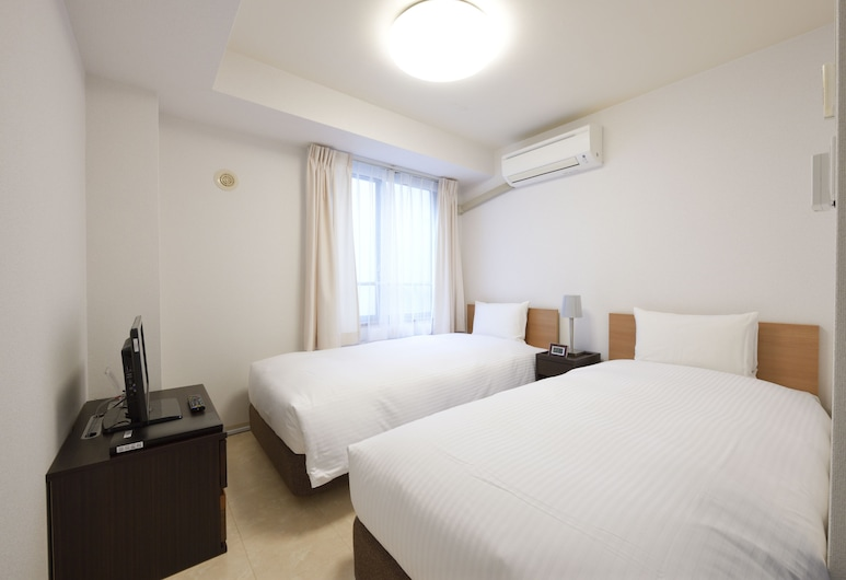 京都第一大青年旅舍, Kyoto, 雙床房 (  B  ), 客房