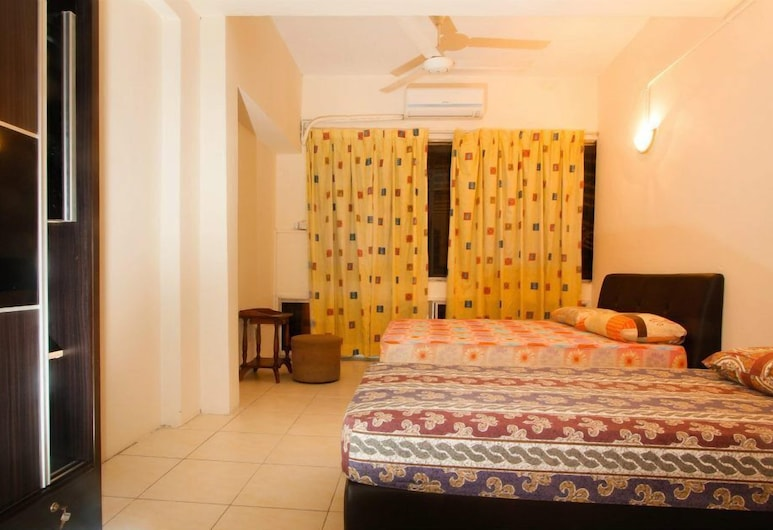 鄉村旅館 - 青年旅舍, 吉隆坡, 基本四人房, 客房