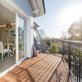 Villa Beach View 8, 2 bedrooms, fireplace, beachfront, sauna - Balcony