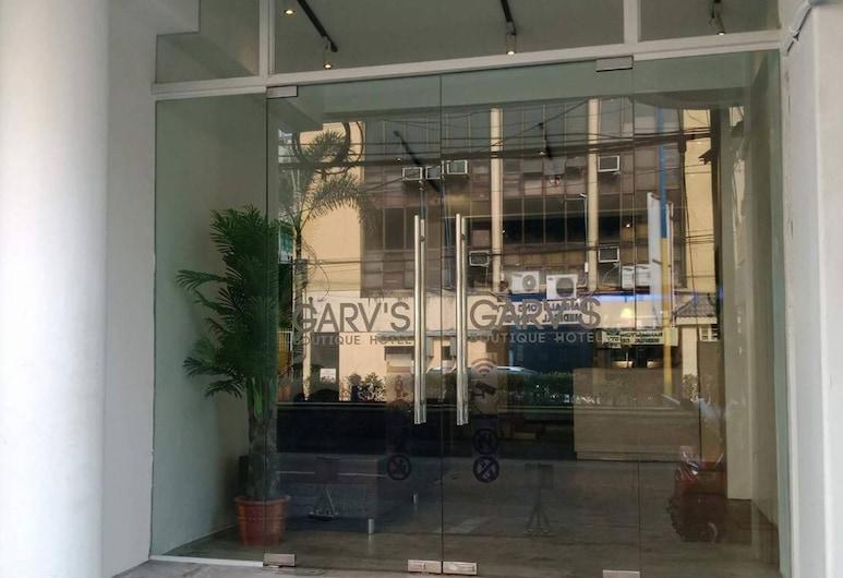 Garv's Boutique Hotel, מאנדאלויונג, הכניסה למלון