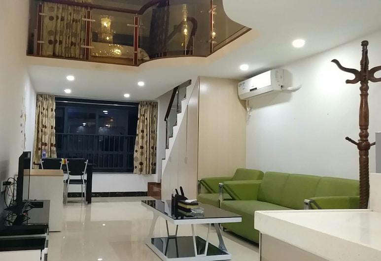 Kun Jiang Service Apartment Chimelong, Guangzhou, Familien-Loft, Zimmer