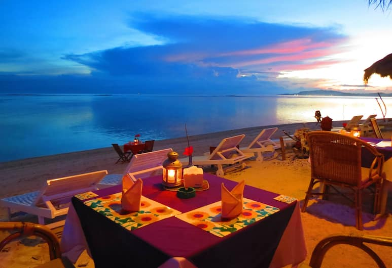 Villa Casa Mio, Gili Air, Açık Havada Yemek