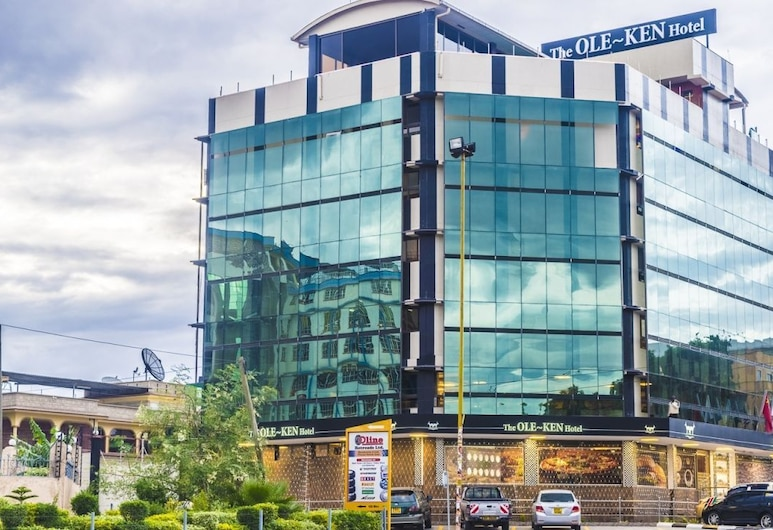 The Ole-Ken Hotel, Nakuru, Hotellets facade