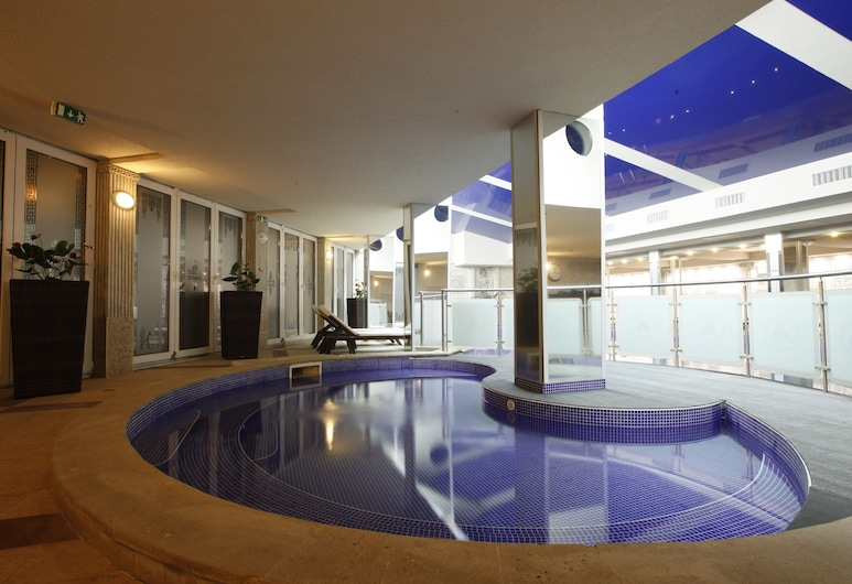 Strimon Garden Medical SPA Hotel, Kjustendil, Krytý bazén