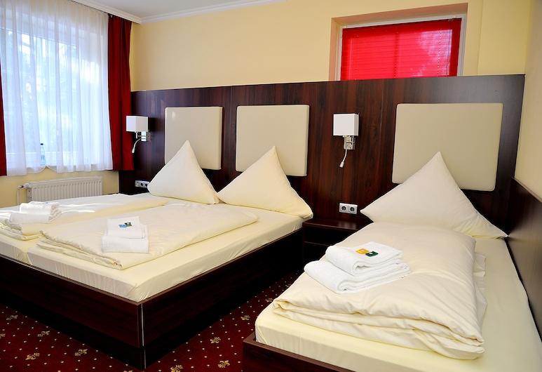 Hotel Neugrabener Hof, Hamburgo, Habitación triple, Habitación