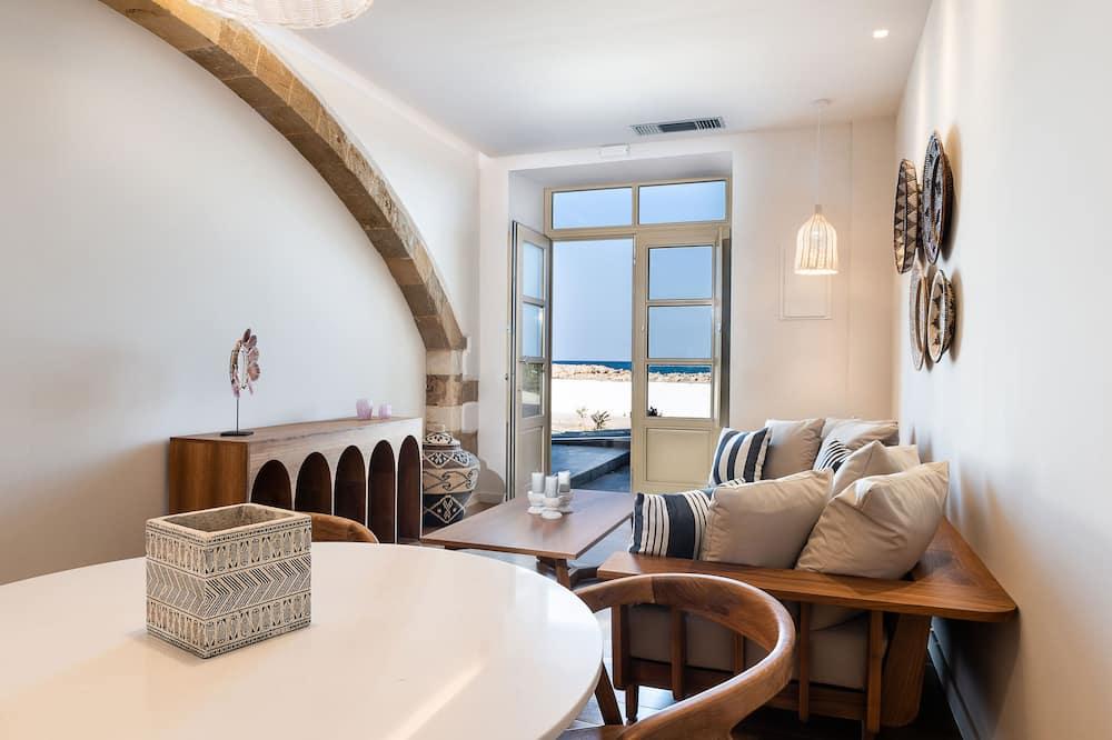 Design Apartment, 1 Bedroom (Nephalion) - Living Area