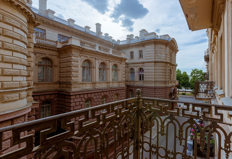 City of Rivers Near Hermitage 4 Rooms, St. Petersburg, Appartement, 3 slaapkamers, Balkon