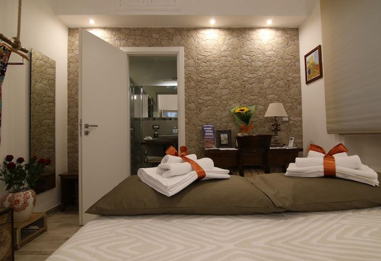 Casa Dell'Artista, Matera, Suite, Meerdere bedden, en-suite badkamer (Petra), Kamer