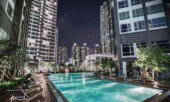 Obrázek hotelu The Berry Vinhomes Luxury Apartments  ve městě Ho Chi Minh City