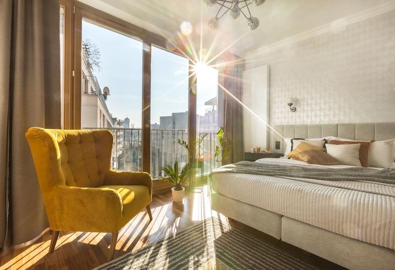 Fragola Apartments Old Town, Krakow, Elite Studio Suite, 1 Queen Bed, Balcony, City View (Zwierzyniecka 24 Street), Room