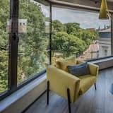 Apartament typu Superior Suite, 1 sypialnia, aneks kuchenny, widok na miasto (Pilsudskiego 1 Street) - Pokój