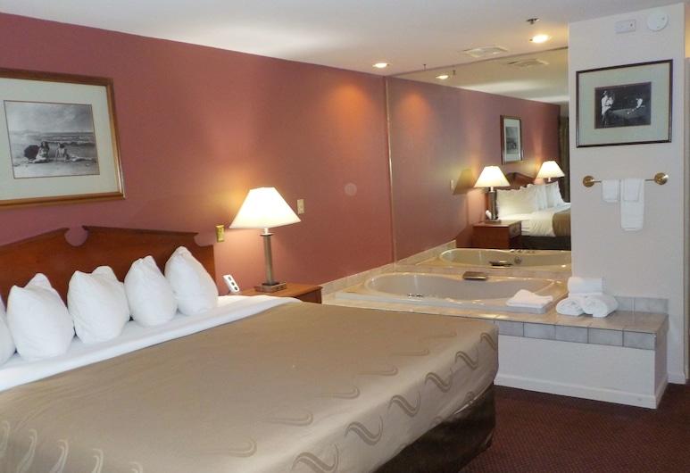 SureStay Plus Hotel by Best Western Auburn, Auburn, Suite, 1 kingsize-seng, ikke-røyk, massasjebadekar, Gjesterom